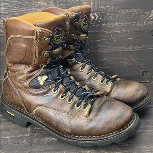 """Georgia Boot Comfort Core 8"""" Work Boots Size 9W"""